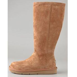Tan Women UGG S/N 1891 Greenfield UGG boot